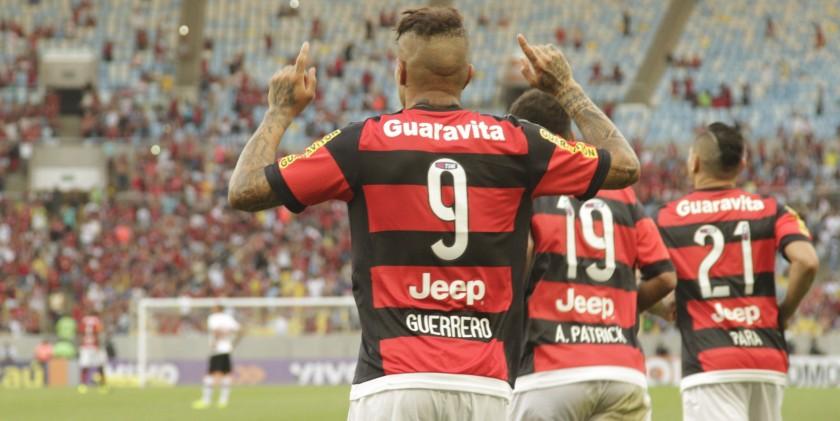 ATUAÇÕES: Guerrero põe fim ao jejum, Allan Patrick comanda meio; NOTAS de Flamengo 2 x 1 São Paulo