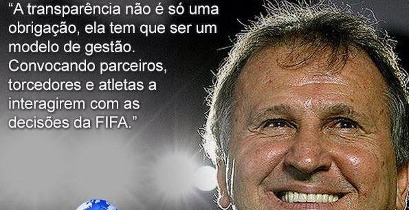 A FIFA precisa do Zico e a CBF está com medo