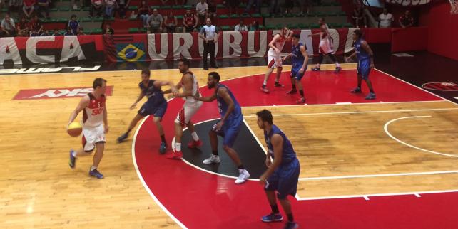 Fla vence a primeira partida na Final do Estadual de Basquete