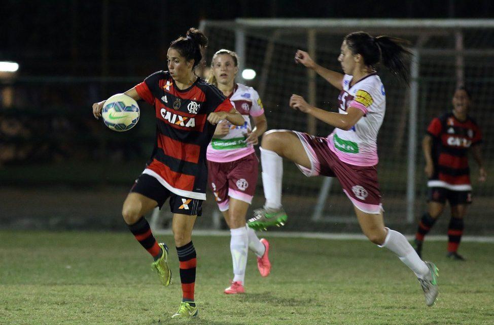 Larissa marca e leva Fla/Marinha à final do Brasileirão Feminino