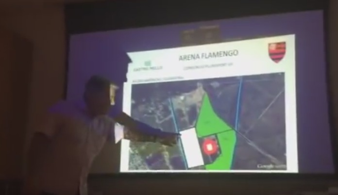 Empresa apresenta projeto de construção de estádio do Flamengo em Guaratiba