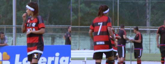 Entrevista com Gaby, do time feminino do Flamengo