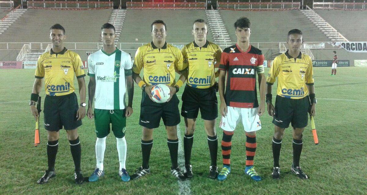 Flamengo vence Porto Vitória e avança às oitavas da Taça BH Sub-17