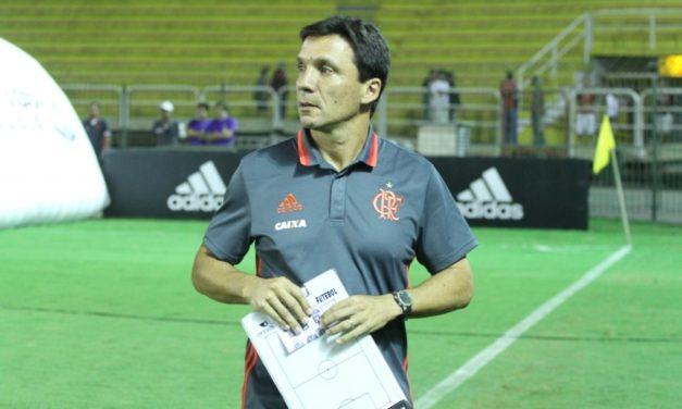 Zé Ricardo destaca a entrega dos jogadores, mas lamenta má partida