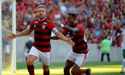Bruno Henrique iguala marca de Diego Ribas no Flamengo