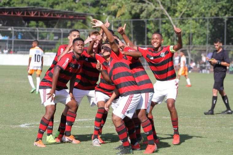 Flamengo é o clube que mais usa a base na Série A