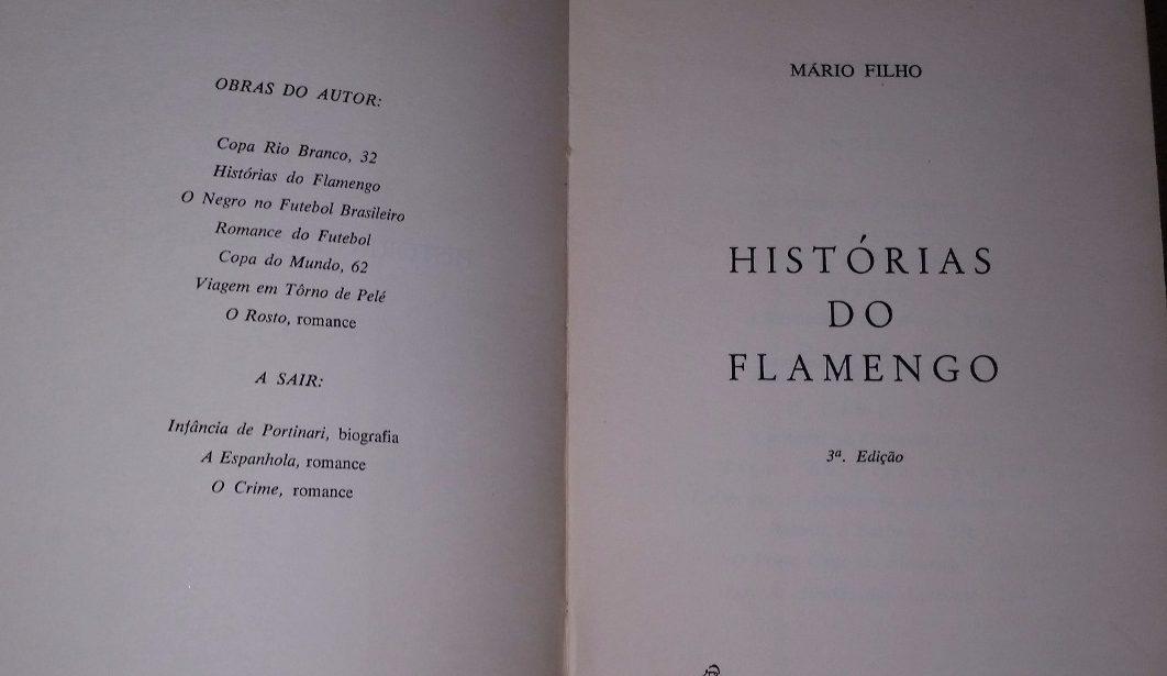 historias do flamengo mario filho