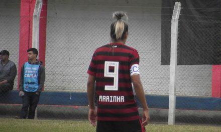 Larissa chega aos 40 gols pelo Flamengo/Marinha