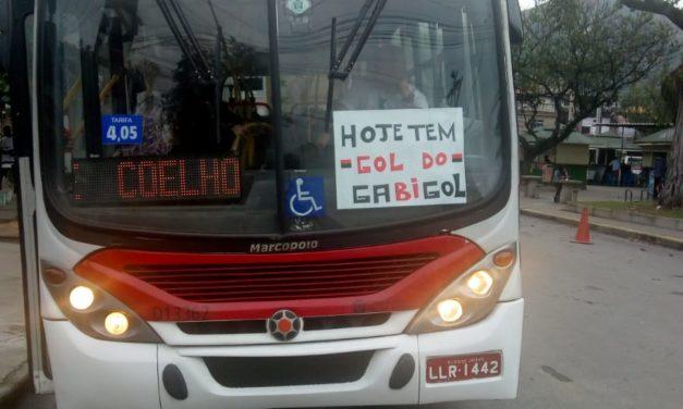 Hoje tem gol do Gabigol: empresa de ônibus entra na febre e aproveita marketing digital