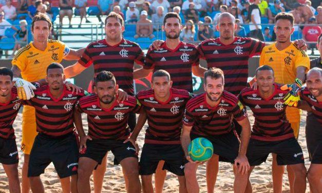 Já classificado, Flamengo Beach Soccer vence mais uma e garante liderança