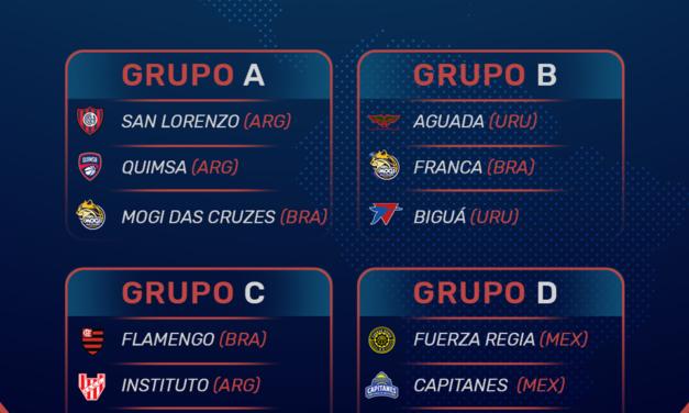 FIBA divulga datas da fase de grupos da Champions League Américas e Fla estreia no Chile
