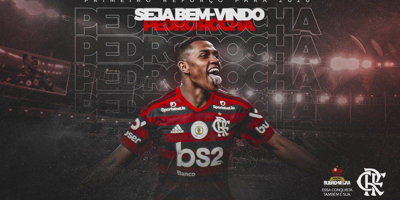 Flamengo anuncia a contratação do atacante Pedro Rocha, que fala pela primeira vez como atleta rubro-negro; confira