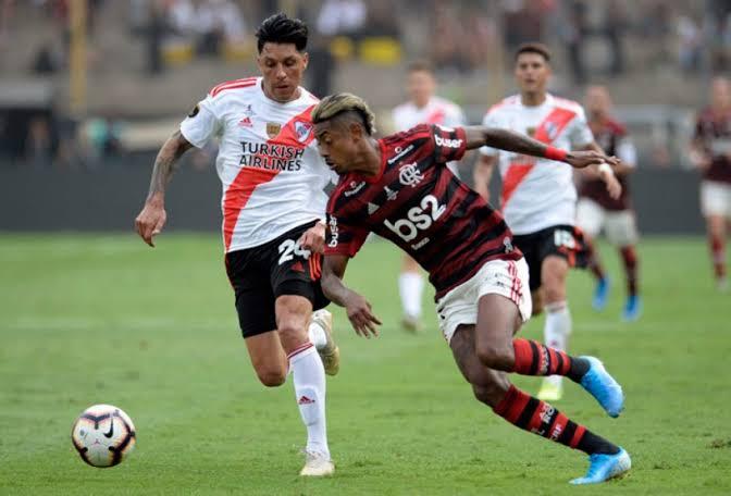 Bruno Henrique final Libertadores