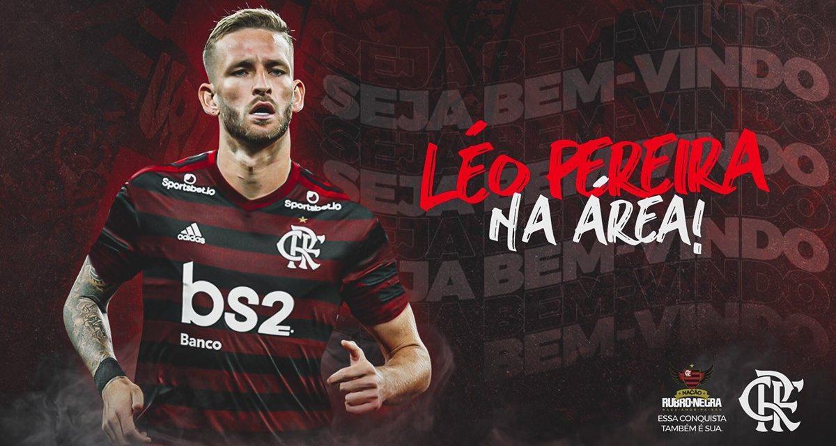 Flamengo anuncia contratação de Léo Pereira