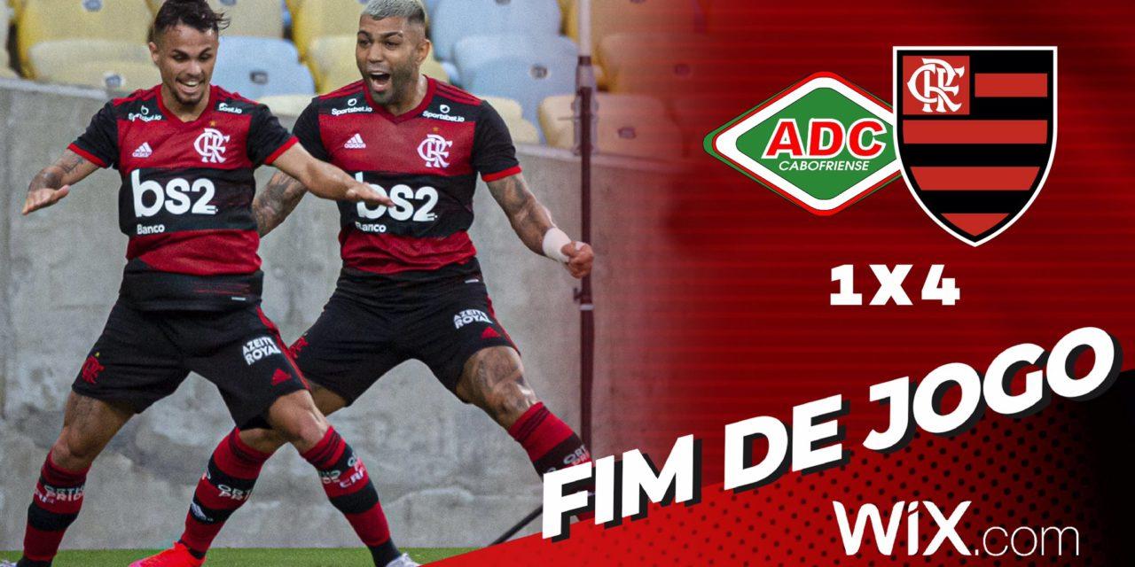Flamengo goleia a Cabofriense no Maracanã; o que os jogadores falaram após a vitória