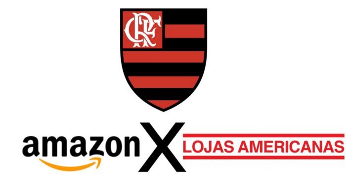 Amazon x Lojas Americanas: Batalha no e-commerce chega à camisa do Flamengo