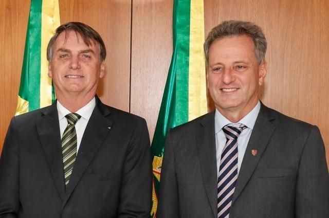 Landim visita Bolsonaro