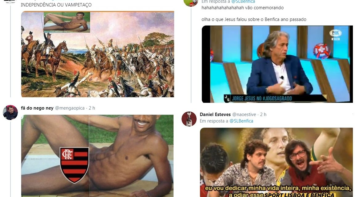 FlaTT invade perfis de clubes portugueses após saída de Jorge Jesus