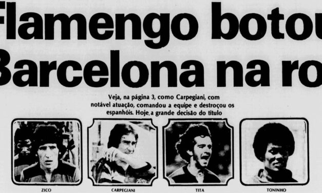 Há 41 anos, após bater o Barcelona, Fla vencia Ramón de Carranza contra húngaros