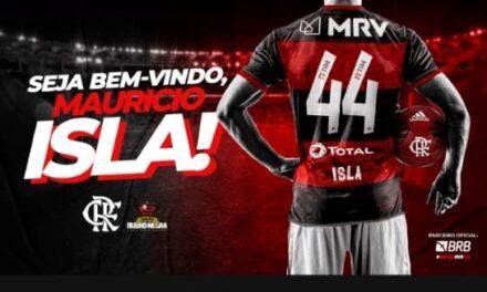 Oficial! Flamengo anuncia a contratação do lateral-direito Isla