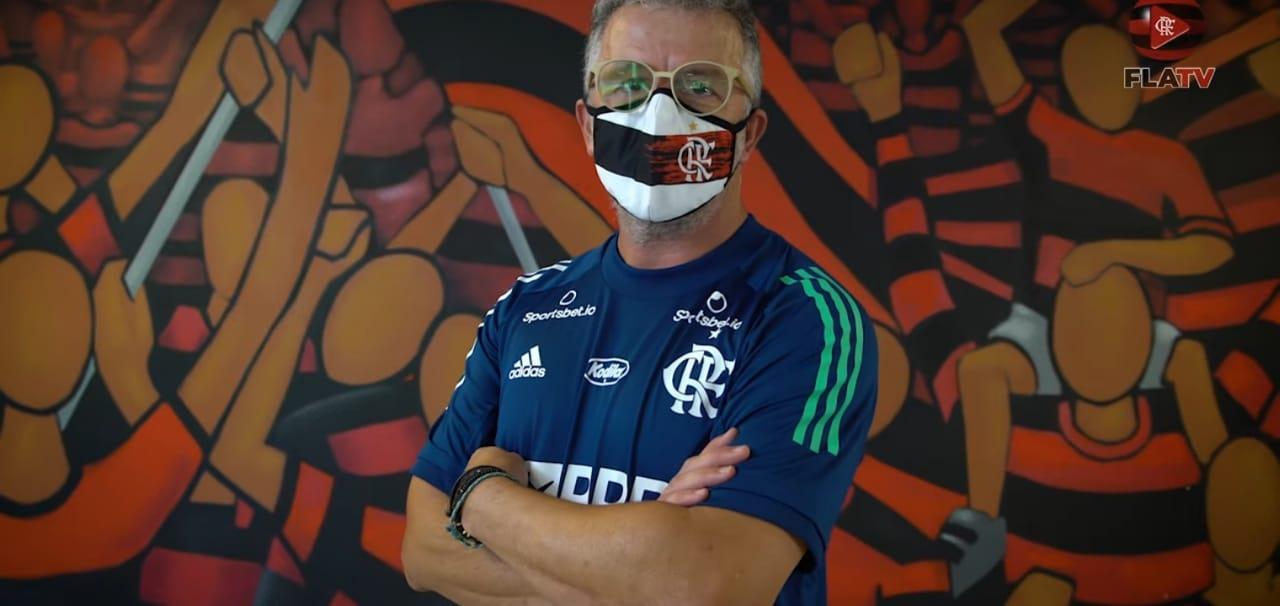 Auxiliar de Dome revela como ficou sabendo que iria para o Flamengo