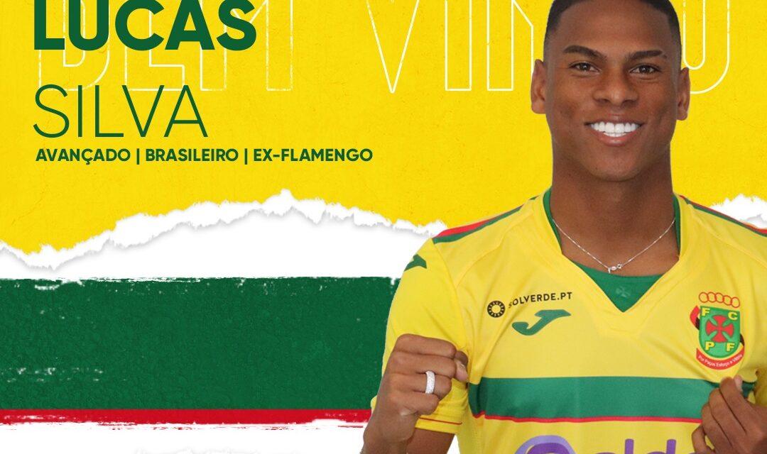 Lucas Silva deixa o Flamengo e chega com status no Paços de Ferreira