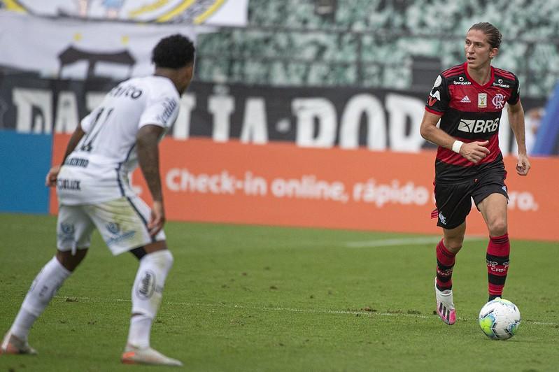 Flamengo vence o Santos na Vila. E houve evolução no time de Domènec?