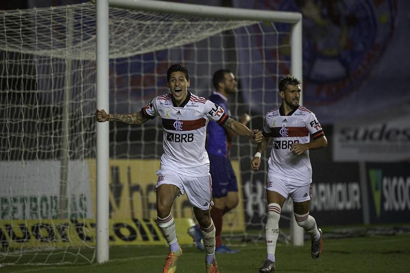 Pedro chega a marca de mais gols no ano de que partidas como titular