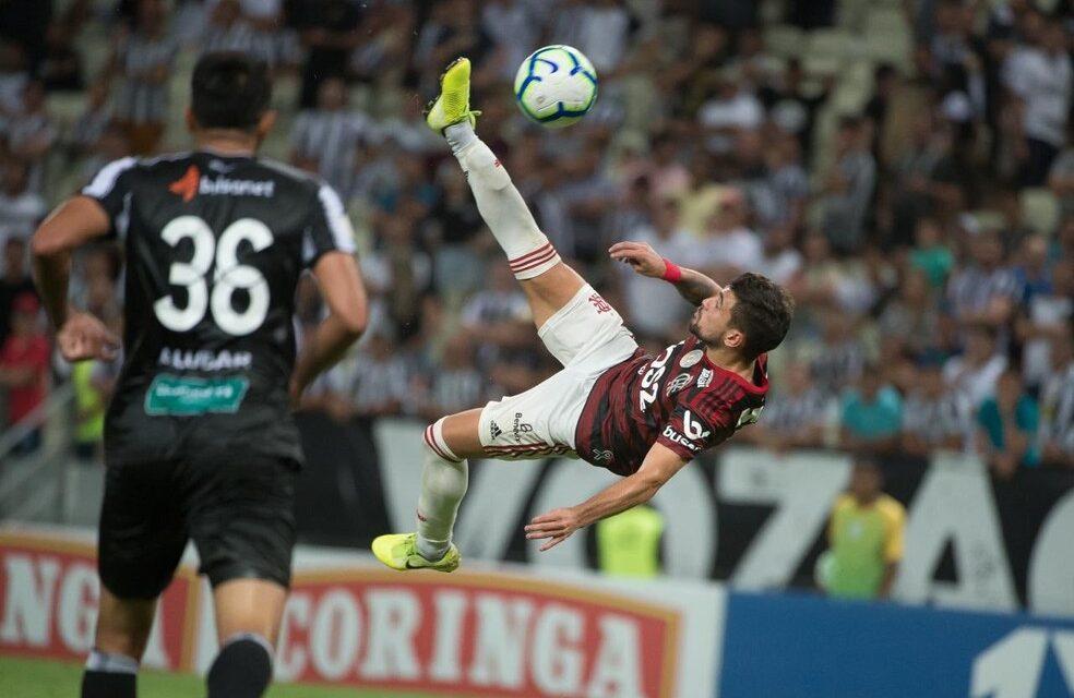 Confira o retrospecto recente de jogos entre Flamengo e Ceará no Castelão