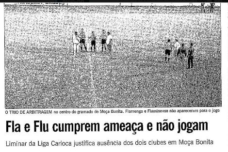 Assolado pela covid-19, Fla pode sofrer W.O. contra o Palmeiras; último foi contra o Vasco