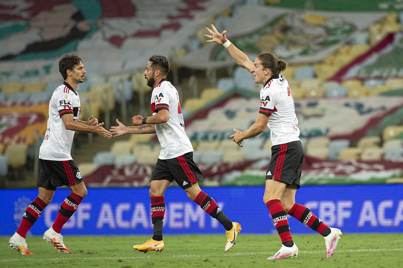 Notas e análises individuais de Fluminense 1×2 Flamengo