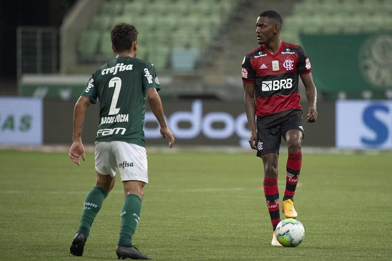 Notas e análises individuais de Palmeiras 1×1 Flamengo