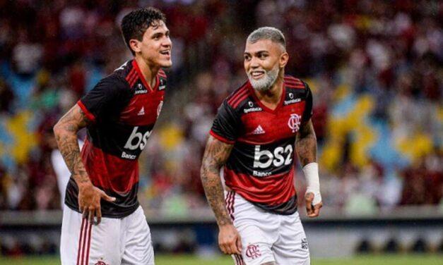 Pedro e Gabigol: as duas grandes opções de ataque do Flamengo
