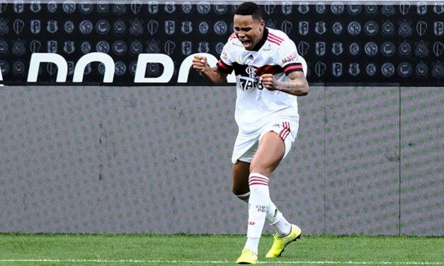 Natan é o Cara da Rodada após fazer seu primeiro gol pelo Flamengo