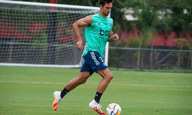 Rodrigo Caio retorna aos treinos e pode ser relacionado no jogo contra o São Paulo