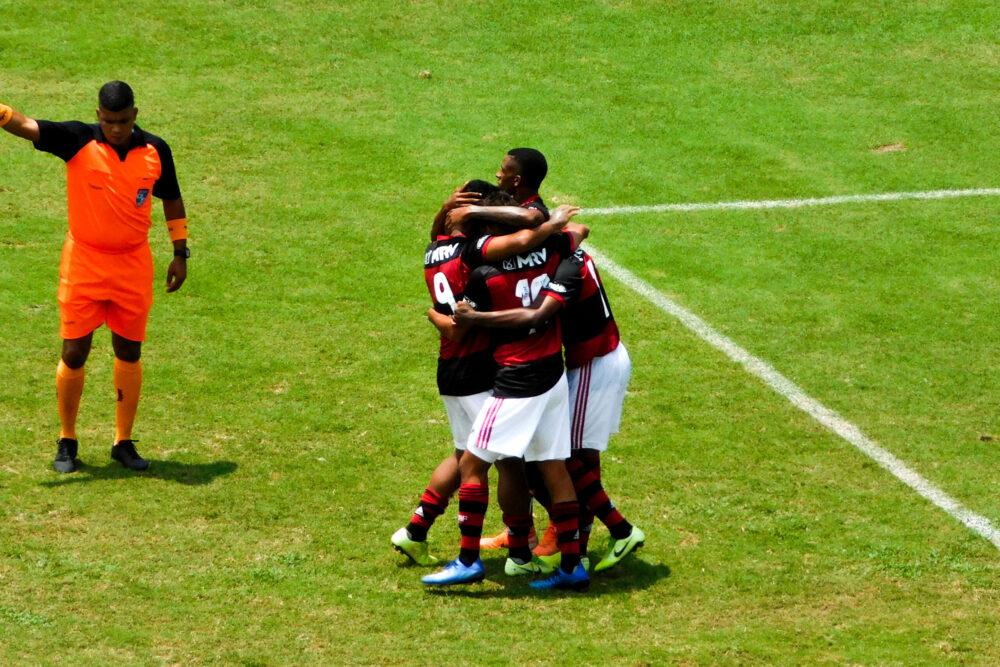Flamengo goleia o Boavista na segunda vitória pela Taça Rio Sub-20