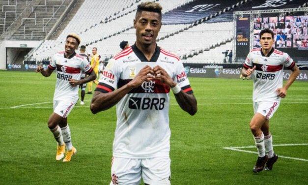 Cincuun? Veja os memes da goleada do Flamengo sobre o Corinthians