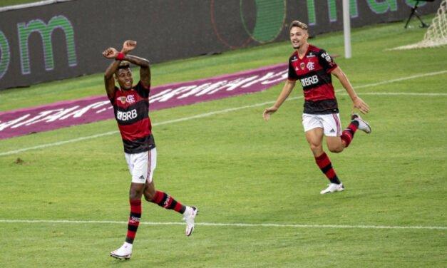 Craque do jogo, Bruno Henrique exalta força do elenco: 'Grupo fantástico'