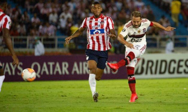 Retrospecto: Flamengo tem 100% de aproveitamento contra o Junior Barranquilla