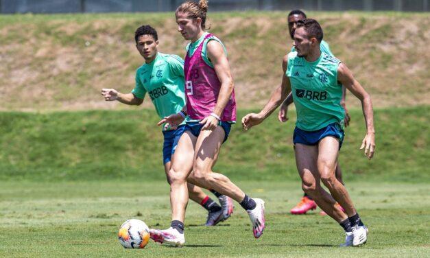 Sem Thiago Maia e Filipe Luís, Flamengo divulga relacionados para enfrentar o Junior Barranquilla
