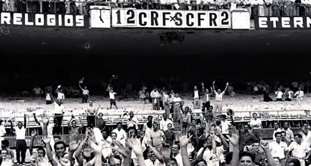 Dupla do Flamengo em tarde infernal foi a responsável pela maior goleada do Maracanã