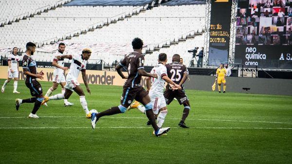 Notas e análises individuais de Corinthians 1×5 Flamengo