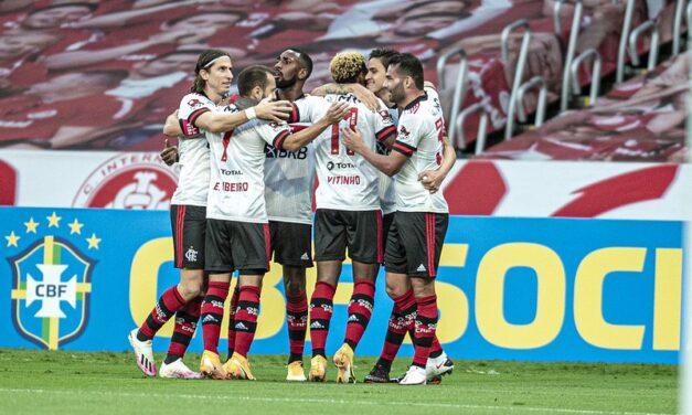 Notas e análises individuais de Internacional 2×2 Flamengo