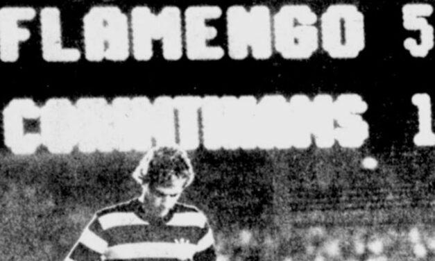Déjà vu: assim como em 2020, Flamengo de Zico também goleou Corinthians por 5×1