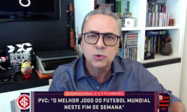Luis Roberto exalta momento de Pedro no Flamengo e dispara: 'Melhor que o Lewandowski'
