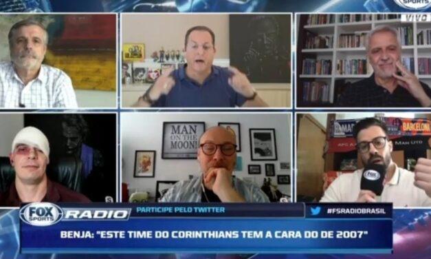 Benja diz que Flamengo parecia estar em 'jogo-treino contra o sub-20 da Cabofriense'
