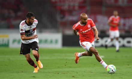 Como o Flamengo errou na saída de bola contra o Internacional