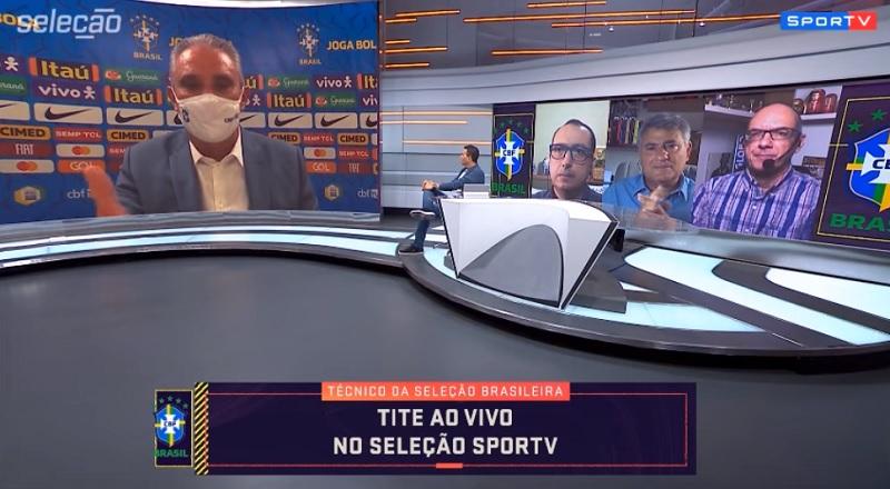 Tite relacionou os esquemas táticos implementados pelos treinadores no desequilíbrio do futebol de Gerson