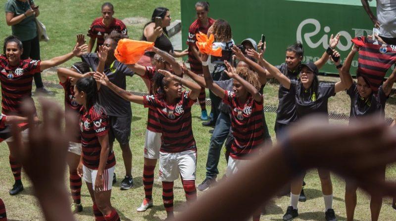flamengo penta campeão carioca feminino 2019