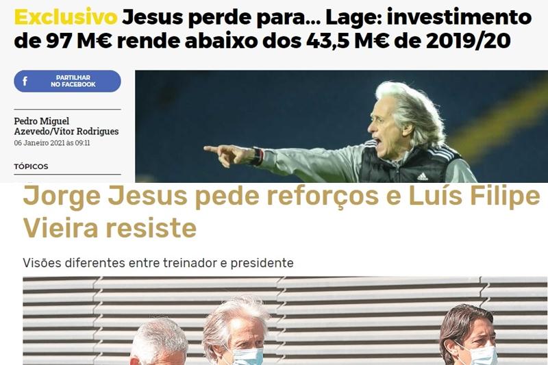 jorge jesus benfica demissao